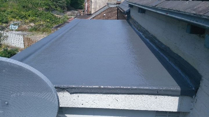 Recovering Of A Concrete Flat Roof South Rd Walkley