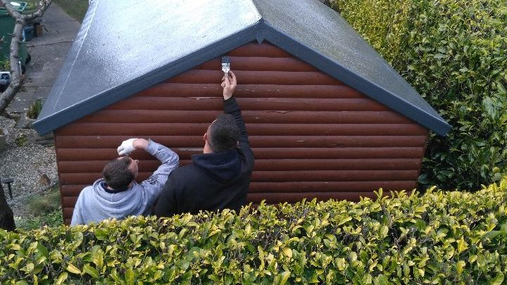 Fibreglass Shed Roof In Lodgemoor