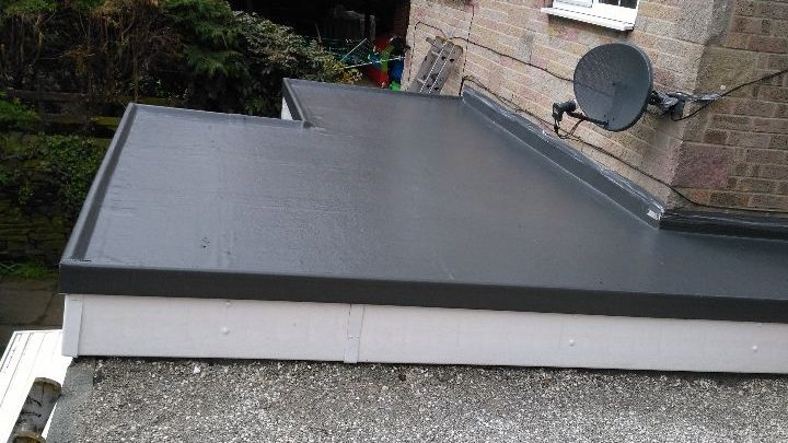 Replacement Flat Roof And Fascia To A Property In Walkley