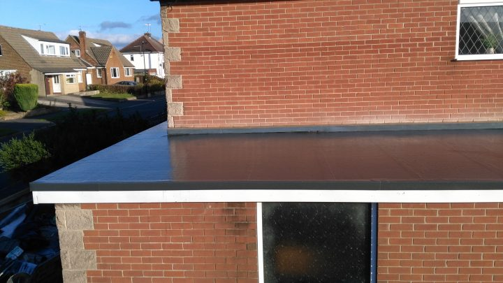 Replacement garage roof completed in Sheffield